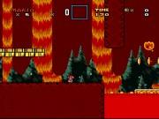 Super Mario World - Bowser's Hideout Snes Game - Mario games