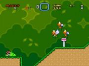 Супер Марио мир экстра демо 1 игра Snes