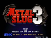 Metal Slug 3 Game