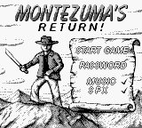 Montezuma's Return! (Europe) (En,Fr,De,Es,It) on gb