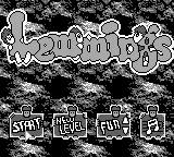 Lemmings (Europe) on gb