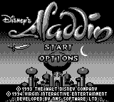 Aladdin (Europe) on gb