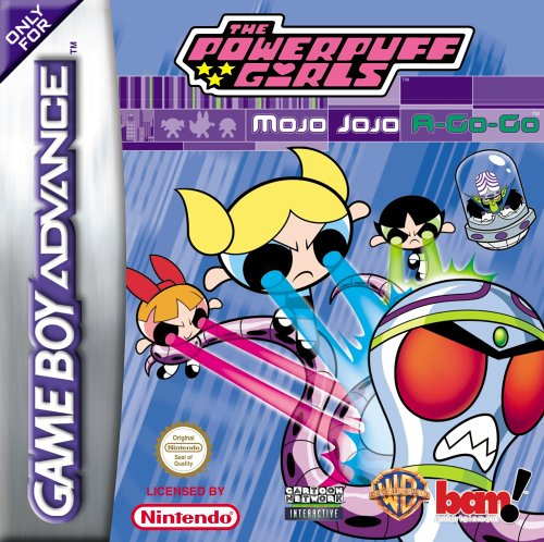 The Powerpuff Girls - Mojo JoJo A-Go-Go (E)(GBA)