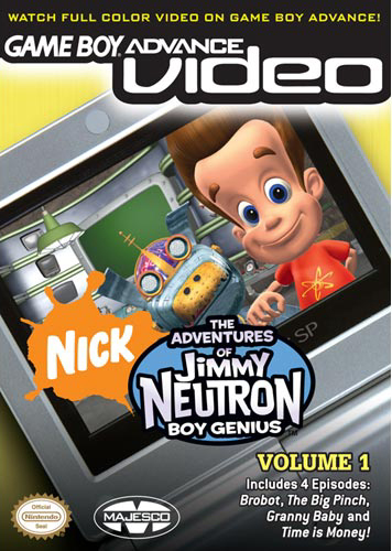 The Adventures of Jimmy Neutron Volume 1 - Gameboy Advance Video (U)(Psychosis)