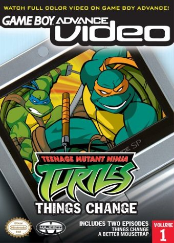 Teenage Mutant Ninja Turtles Volume 1 - Gameboy Advance Video (U)(Rising Sun)