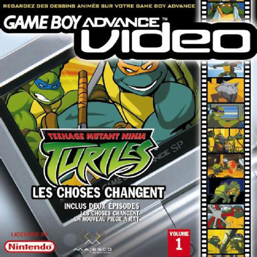 Teenage Mutant Ninja Turtles Volume 1 - Gameboy Advance Video (F)(Independent)