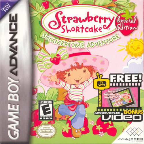 Strawberry Shortcake - Summertime Adventure (Special Edition) (U)(Sir VG)