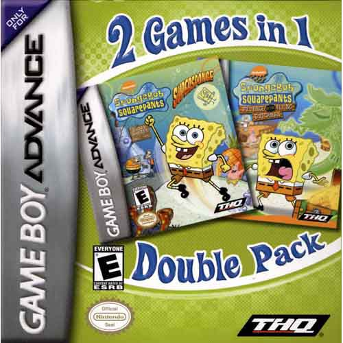 SpongeBob SquarePants Gamepack 1 (U)(Eternity)