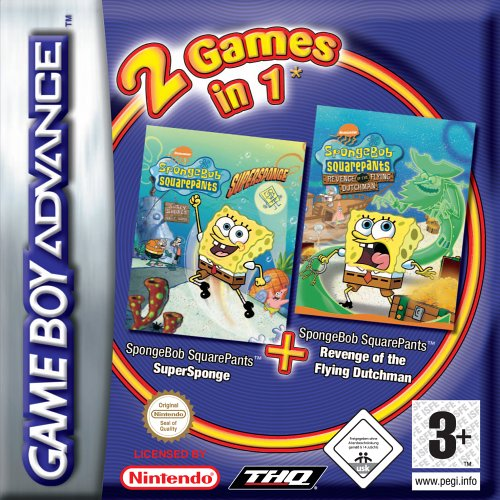 SpongeBob SquarePants Gamepack 1 (E)(Rising Sun)