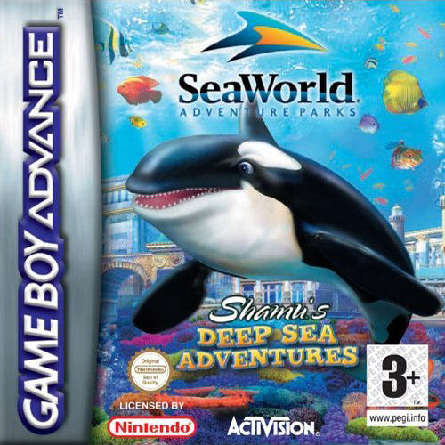 Shamu's Deep Sea Adventures (E)(Sir VG)