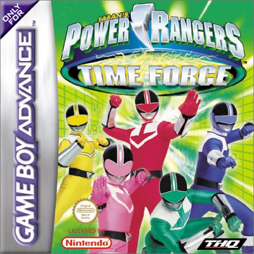 Power Rangers - Time Force (G)(Cezar)