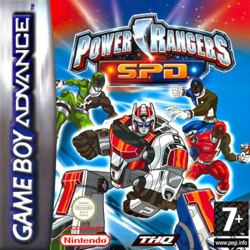 Power Rangers - SPD (E)(Independent)