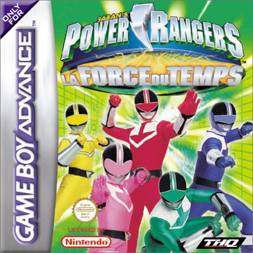 Power Rangers - La Force Du Temps (F)(Eternity)