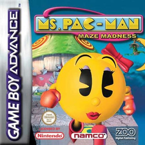 Ms. Pac-Man Maze Madness (E)(Rising Sun)