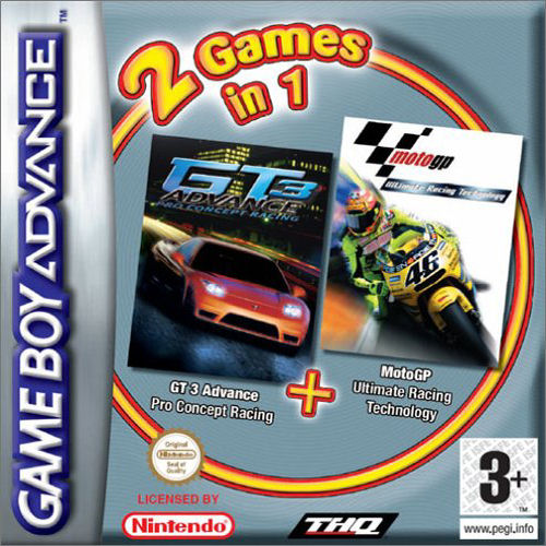 Moto GP & GT Advance 3 Double Pack (E)(Independent)