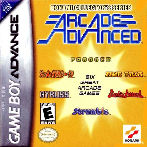 Konami Collector's Series - Arcade Advanced (U)(Mode7)