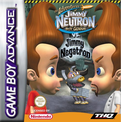 Jimmy Neutron vs. Jimmy Negatron (G)(Mugs)