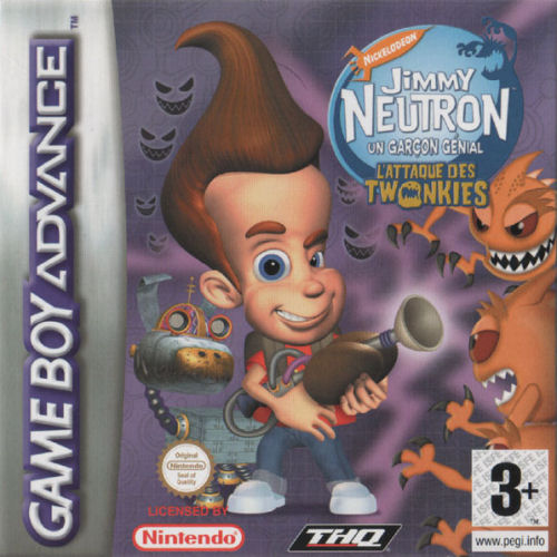 Jimmy Neutron - L'Attaque des Twonkies (F)(Independent)