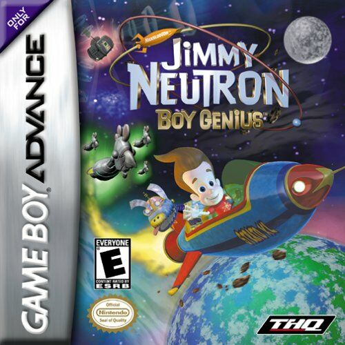 Jimmy Neutron - Boy Genius (U)(Eurasia)