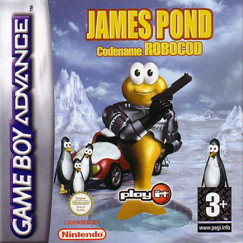 James Pond - Codename Robocod (E)(Rising Sun)