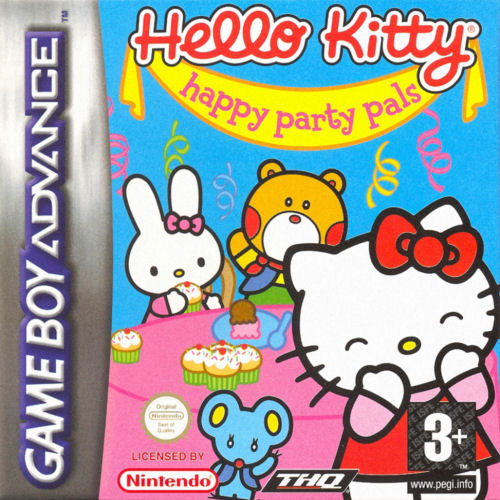 Hello Kitty - Happy Party Pals (E)(Sir VG)