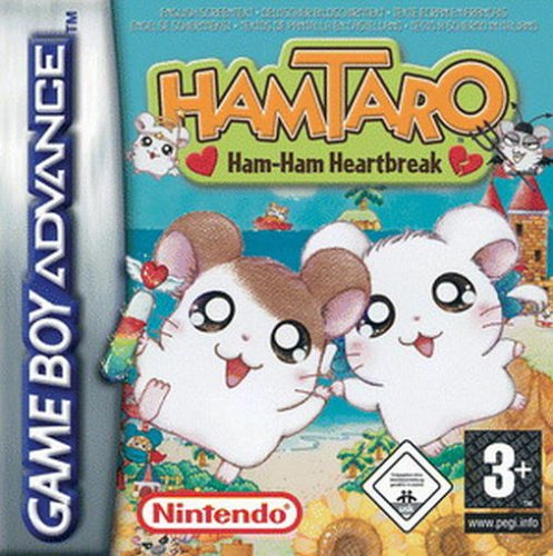 Hamtaro - Ham-Ham Heartbreak (E)(Surplus)