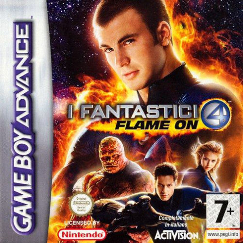 Fantastic 4 - Flame On (E)(Independent)