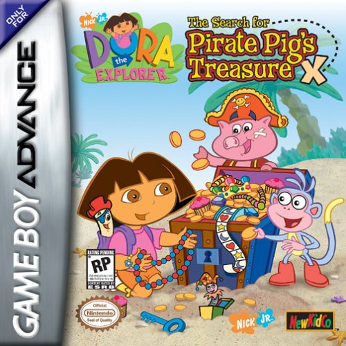 Dora the Explorer - The Search for Pirate Pig's Treasure (U)(Eurasia)
