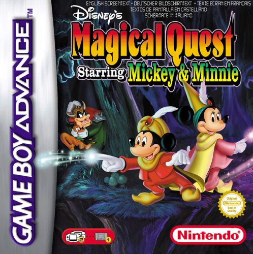 Disney's Magical Quest Starring Mickey and Minnie (E)(Patience)