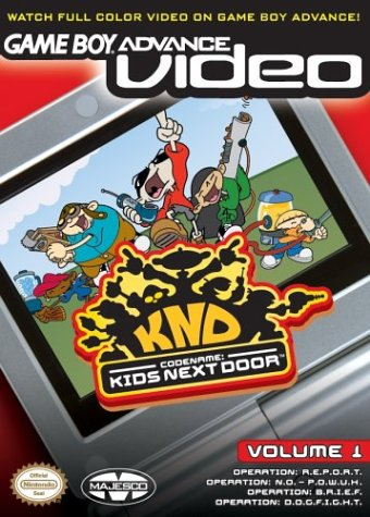 Codename Kids Next Door Volume 1 - Gameboy Advance Video (U)(Rising Sun)