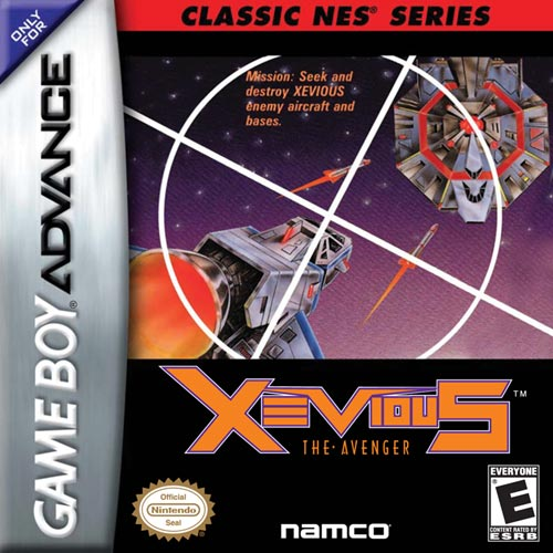 Classic Nes - Xevious (U)(Hyperion)
