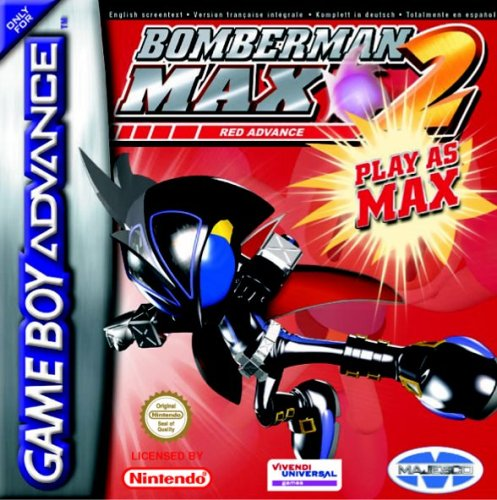 Bomberman Max 2 Red (E)(Megaroms)