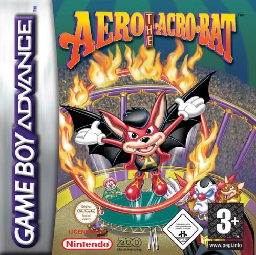 Aero The Acro-Bat - Rascal Rival Revenge (E)(Independent)