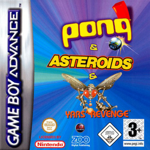 3 in 1 - Asteroids, Yar's Revenge and Pong (E)(sUppLeX)