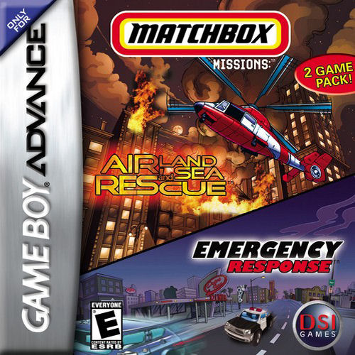 2 in 1 - Matchbox Missions (U)(Sir VG) Game