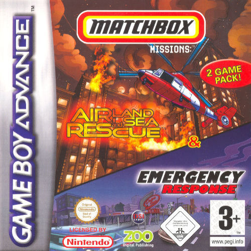 2 in 1 - Matchbox Missions (E)(Sir VG) Game
