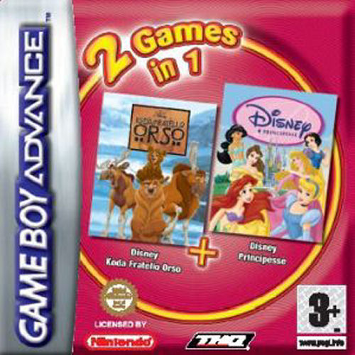 2 in 1 - Koda Fratello Orso & Disney Principesse (I)(Independent) Game