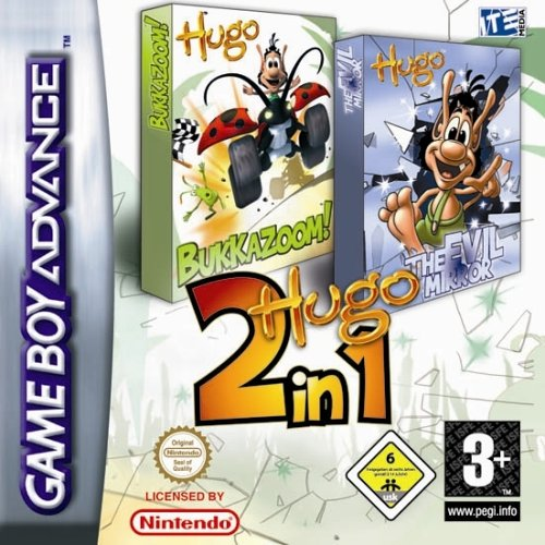 2 in 1 - Hugo Bukkazoom & Hugo & The Evil Mirror (E)(Rising Sun) Game