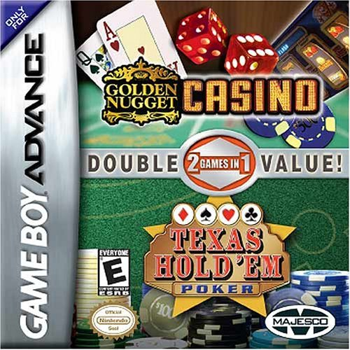 2 in 1 - Golden Nugget Casino & Texas Hold'em Poker (U)(Rising Sun) Game