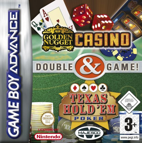 2 in 1 - Golden Nugget Casino & Texas Hold'em Poker (E)(Independent) Game