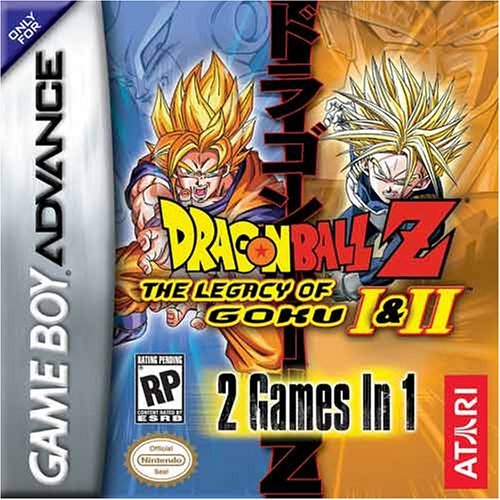 2 in 1 - Dragon Ball Z - The Legacy of Goku I & II (U)(Rising Sun) Game