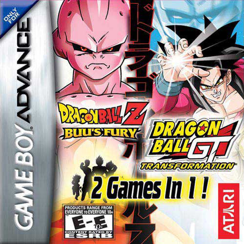 2 in 1 - Dragon Ball Z - Buu's Fury & Dragon Ball GT - Transformation (U)(Independent) Game