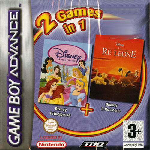 2 in 1 - Disney Principesse & Il Re Leone (I)(Independent) Game