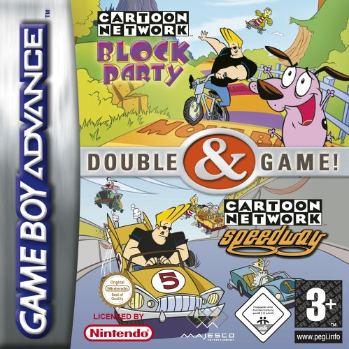 2 in 1 - Cartoon Network - Block Party & Speedway (E)(sUppLeX) Game