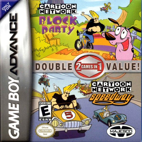 2 in 1 - Cartoon Network - Block Party & Cartoon Network - Speedway (U)(Trashman) Game