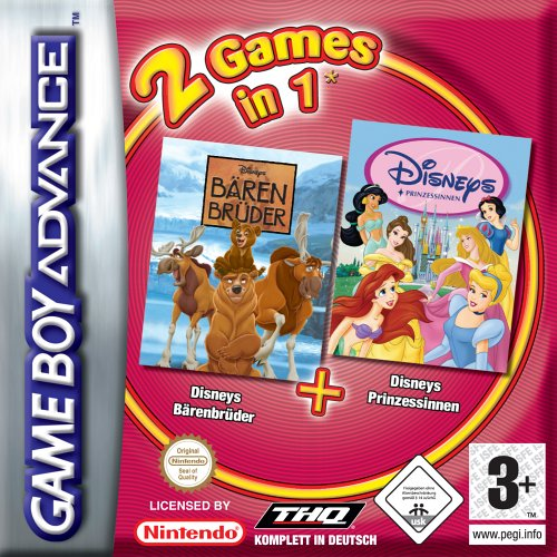 2 in 1 - Barenbruder & Disney Prinzessinen (G)(Independent) Game