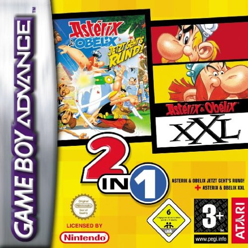 2 in 1 - Asterix and Obelix (E)(Rising Sun) Game