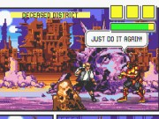 Comix Zone on GBA Game