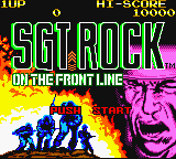 Sgt. Rock - On the Frontline Game