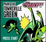 Powerpuff Girls, The - Paint the Townsville Green Game